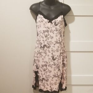 Betsey Johnson Jungle Toile Jersey Chemise